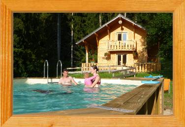 Chalets avec piscine